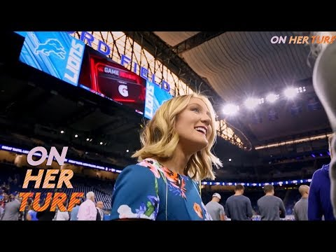 Video: Detroit Lions' Tori Petry plays tackle football to aide career I On Her Turf I NBC Sports