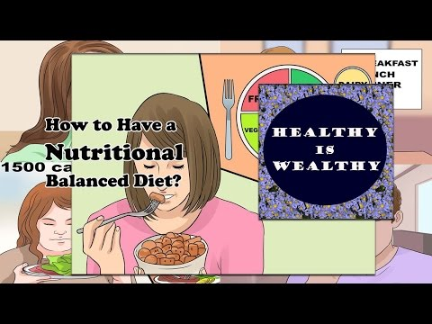 Tips for Healthy diet | How to have a Healthy Nutritional Balanced diet?