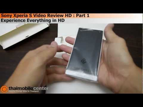 Sony Xperia S Video Review HD (Thai) : Part 1