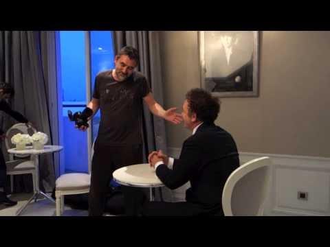 Nicolas Guerin - John C. Reilly - Cannes Film Festival 2015