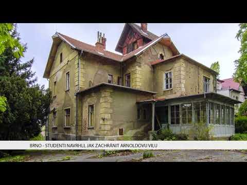 TV Brno 1: 5.2.2018 Studenti navrhli jak zachránit Arnoldovu vilu.