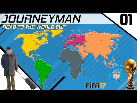Fifa 17 - Journeyman - Road to the World Cup - It begins - EP#1 (Perth Glory) (видео)