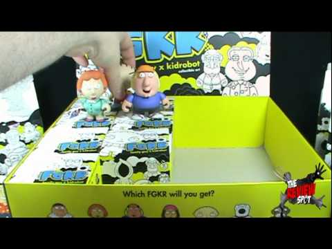 Artase - On today's Spot, we'll be having a look at the Kid Robot FGKR Family Guy Collectible Art Case The Review Spot's Music provided by http://www.royalty-free.tv/...