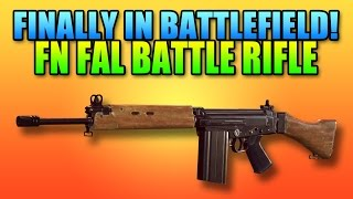 FN FAL Battle Rifle New Best Gun In Hardline? | Battlefield Hardline