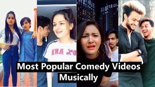 Most Popular Musically Videos of November | Jannat, Team 07, Avneet, Mrunal, Aashika, Manjul