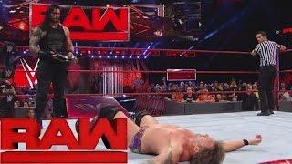 Nonton Romon Reigns vs Chris Jericho championship match WWE Monday night RAW 2nd January 2017 Film Subtitle Indonesia Streaming Movie Download