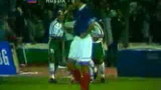 Trifon Ivanovs Treffer gegen Russland (1997)
