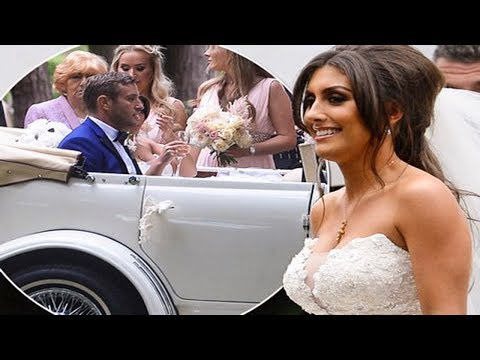 Elliott Wright and Sadie Stuart's Gorgeous Wedding Day | Today Top News