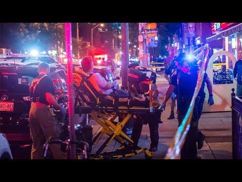 多伦多闹区枪手滥射 总计3死12伤