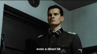 Hitler is informed the Bunker is Shelled