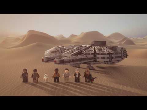 Конструктор Сокол Тысячелетия - LEGO STAR WARS - фото № 13