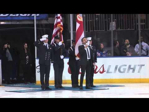 US National Anthem at MSG