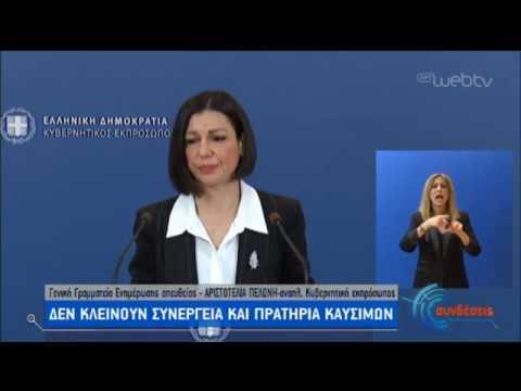 Ενημέρωση απο την αναπληρώτρια κυβερνητική εκπρόσωπο Αρ. Πελώνη | 16/03/2020 | ΕΡΤ