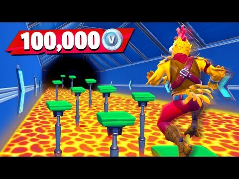 Little Brother Gets 100K VBucks if He Wins (Fortnite Floor is Lava Parkour Challenge) - Thời lượng: 17 phút.
