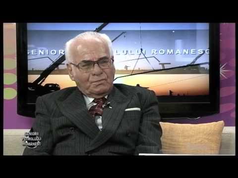 """Emisiunea """"Seniorii petrolului romanesc"""" P1 – Vlad Ion – 09 mai 2015"""