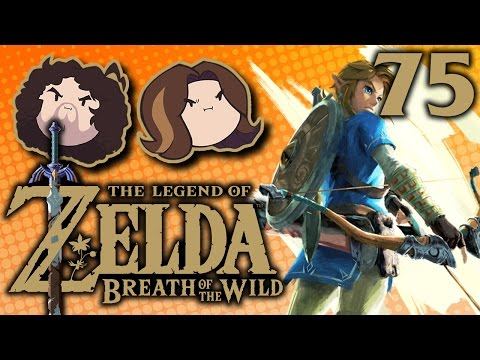 Breath of the Wild: Entering the Castle - PART 75 - Game Grumps (видео)