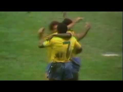 goal di pelè nella finale della coppa del mondo 1970 all'italia