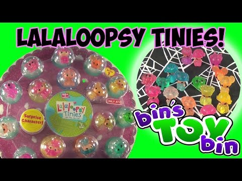 bin - Our first-ever opening of a giftset of LaLaLoopsy Tinies minifigures! This set is available exclusively at Target Stores! It also includes a SURPRISE character! Let us know if we should do...