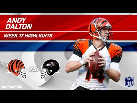 Video: Andy Dalton Highlights | Bengals vs. Ravens | Wk 17 Player Highlights