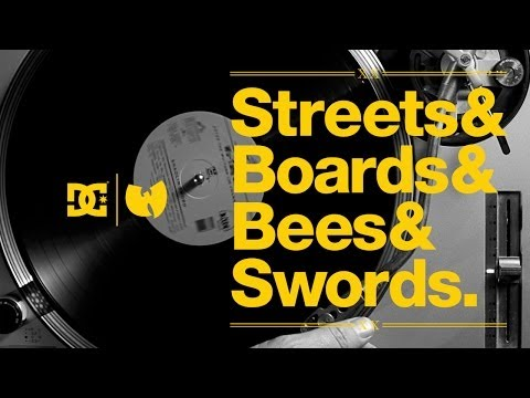DC Shoes   STREETS & BOARDS & BEES & SWORDS Wu Tang Clan Documentary