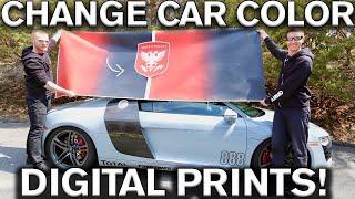 Video Change Car Color with Digital Prints Audi R8 MP3, 3GP, MP4, WEBM, AVI, FLV Agustus 2019