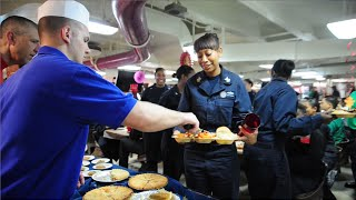 Video Thanksgiving aboard USS Carl Vinson in the Arabian Gulf MP3, 3GP, MP4, WEBM, AVI, FLV Juni 2019