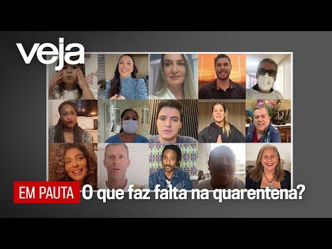 Médicos, artistas, youtubers e atletas respondem: do que você sente falta na quarentena? видео
