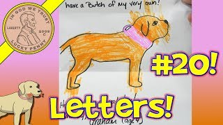 """Monday Mail Day #20 - Letters & Pictures From Lucky Penny Shop Subscribers - Sadly we have been getting less and less mail and we know why that is.  We still continue to create YouTube content in hopes things will get better and we will go back to where we were when the channel was doing much better.  If you sent something and did not here back from us, then it could have been we were waiting to get enough to put a video together.   We had shipped out the items 3 or 4 days before the video and why we put the """"Fake"""" boxes in the video :) That is the first time in the 20 videos we ever did that!Lucky Penny ThoughtsLPS-DaveLater!Send mail to this address:Lucky Penny Shop119 S Emerson St #113Mount Prospect, IL 60056▶ About UsLucky Penny Shop is a family-friendly YouTube channel that features videos of kids food maker sets, slime, putty, new & vintage toys, games and candy & food from around the world! There are over 5500 videos!▶ Product InfoMonday Mail Day #20 - Letters & Pictures From Lucky Penny Shop SubscribersVisit us online ▶ http://www.luckypennyshop.com/shop/▶ Watch More VideosLPS - Viewer Mail - Lucky Penny Shop Subscriber Mail https://www.youtube.com/watch?v=jjrV0OQwdbE&index=1&list=PL27_x9U5H26tpdZhsqVz01BYn4nzjDWwQMonday Mail Day! Letters, Pictures & Shipping Toys!https://www.youtube.com/watch?v=uuCGXTPlPIkMonday Mail Day! Items Shipped Before Christmas, Send Us A Letter!https://www.youtube.com/watch?v=jjrV0OQwdbEMonday Mail Day! Free Penny Letters - LPS-Dave Pictures #3https://www.youtube.com/watch?v=1weVTkDq7dM▶ Follow UsTWITTER  http://twitter.com/luckypennyshop FACEBOOK  http://www.facebook.com/LuckyPennyShopINSTAGRAM  http://instagram.com/LuckyPennyShopGOOGLE+  https://plus.google.com/+luckypennyshopPINTEREST  http://www.pinterest.com/luckypennyshop/LPS WEBSITE  http://www.luckypennyshop.com/Sound Effects by http://audiomicro.com/sound-effectsThis video is not intended as an endorsement of the product shown. We were not paid or provided other non-moneta"""