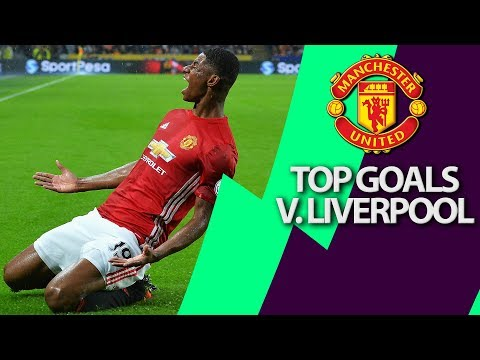 Video: Manchester United's top 5 goals v. Liverpool | Premier League | NBC Sports