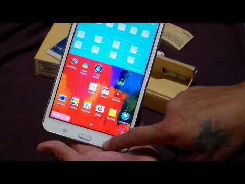 Samsung GALAXY Tab 4 7 inch WIFI 8 gig Review