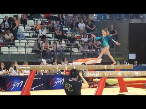 Rebecca Rubens (2004) - Nat A 13ans - Championnat de France 2017