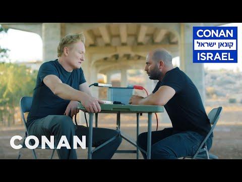 "Conan Interrogates The Star Of ""Fauda"" | CONAN on TBS"
