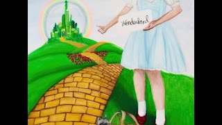 Wizard of Oz speed painting