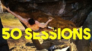 The Hardest Project Emil Is working on || Short Climbing Film by Eric Karlsson Bouldering