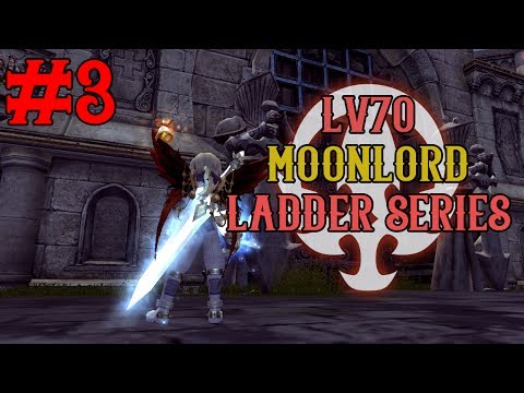 Lv70 Moonlord 1v1 Ladder Series - #3 Winning the Cat Fight, Road to 1800+ Ratings~ !