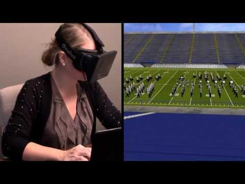 Virtual reality meets 3D drill design - EnVision and Oculus Rift