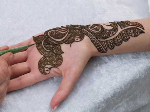 Riffat - mehndi on a bride step by step by riffat (on hennapage.com)