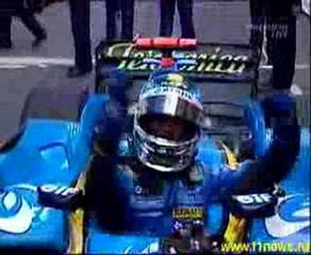 Jarno Trulli - Victoria en GP Monaco 04