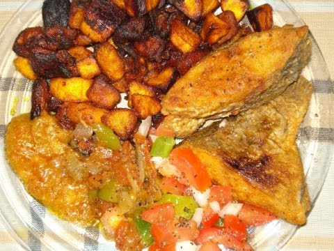 Recette de cuisine : l'alloco poisson | How to make fried plantain - fried fish