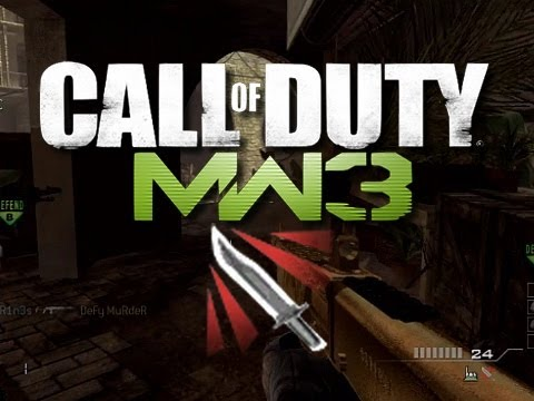 MW3 - Throwing Knife Montage #3