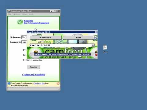 CamFrog 6 0 Pro activation code crack   full CamFrog 6 Pro code serial keygen free download licence
