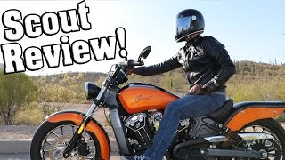 10. 2016 Indian Scout Review / Riding the 2016 Indian Scout!