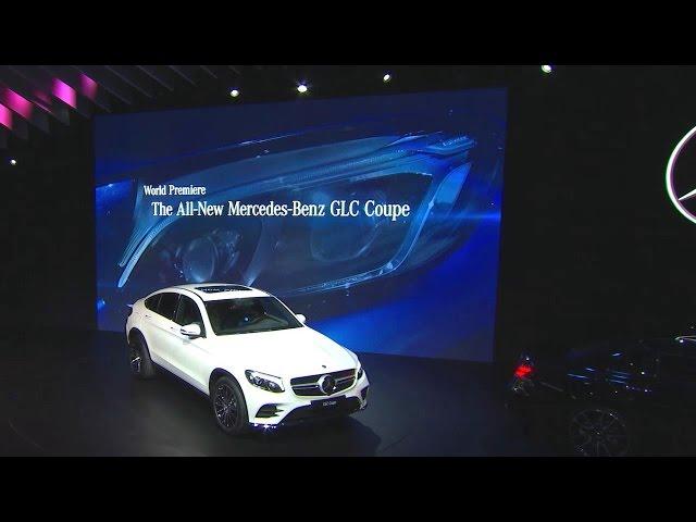 New York International Auto Show:  The new GLC Coupé - Mercedes-Benz original