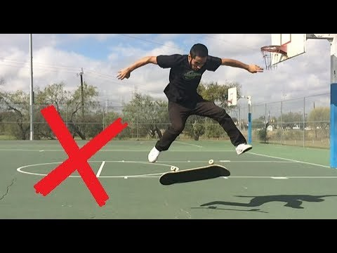 5 Things You Should Never Do When Learning Tre Flips