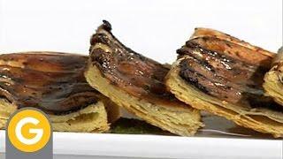 ABC Gourmet. Appetizers - Persiana De Portobello Con Pesto De Albahaca
