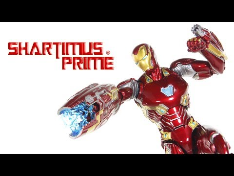 SH Figuarts Iron Man Mark 50 Avengers Infinity War Movie 6 Inch Marvel Action Figure Toy Review