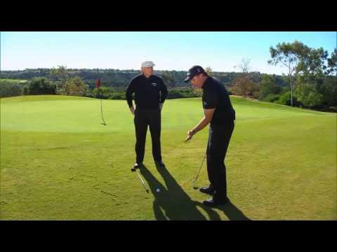 Otrolig förmåga att chippa golfboll