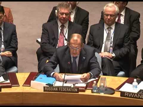 Выступление С.В.Лаврова на заседании Совета Безопасности ООН при принятии резолюции по Сирии (видео)