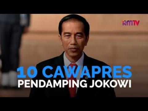 10 Cawapres Pendamping Jokowi