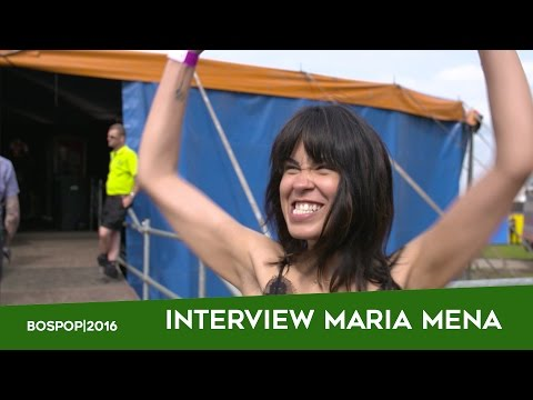 Bospop 2016 | interview Maria Mena